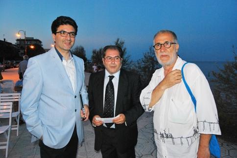 Con Franco Maurella e Mario Brigante