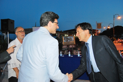 Con il sindaco di Francavilla M.ma Leonardo Lucente