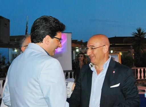Con il sindaco di Trebisacce Franco Mundo