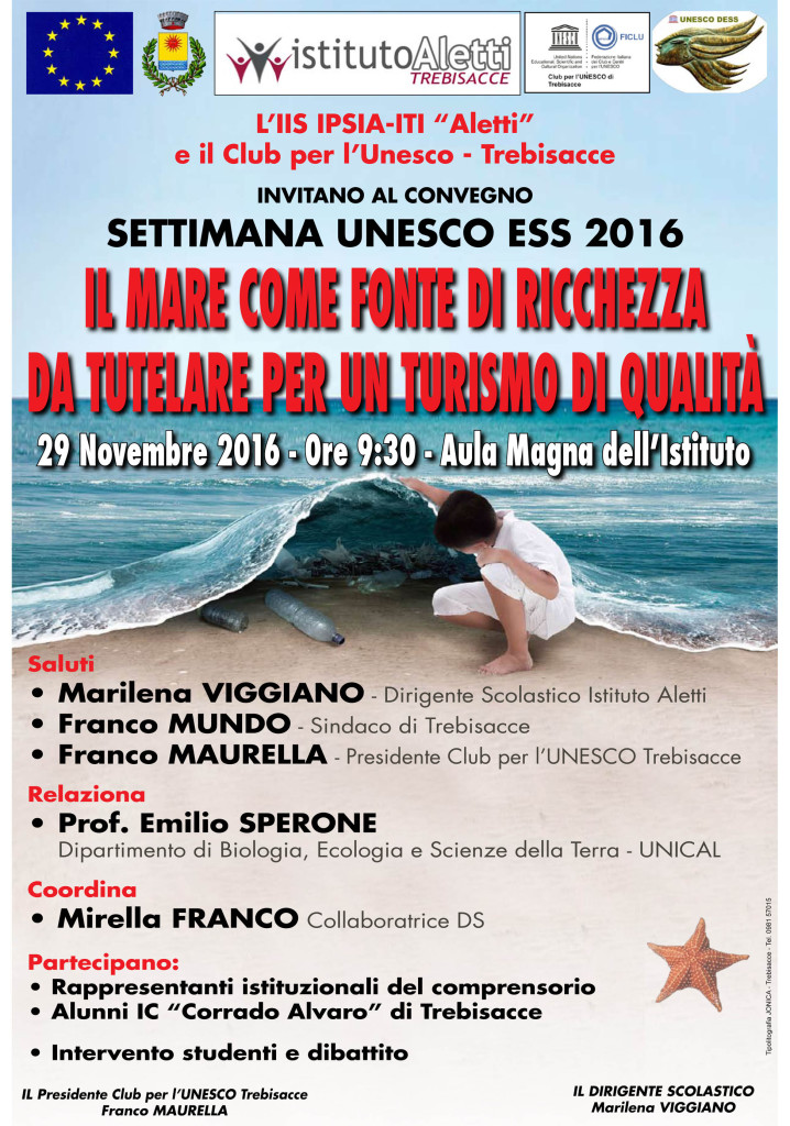 Locandina Settimana ESS Unesco